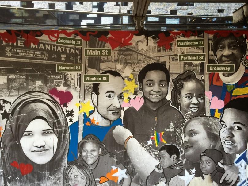 Area 4 mural